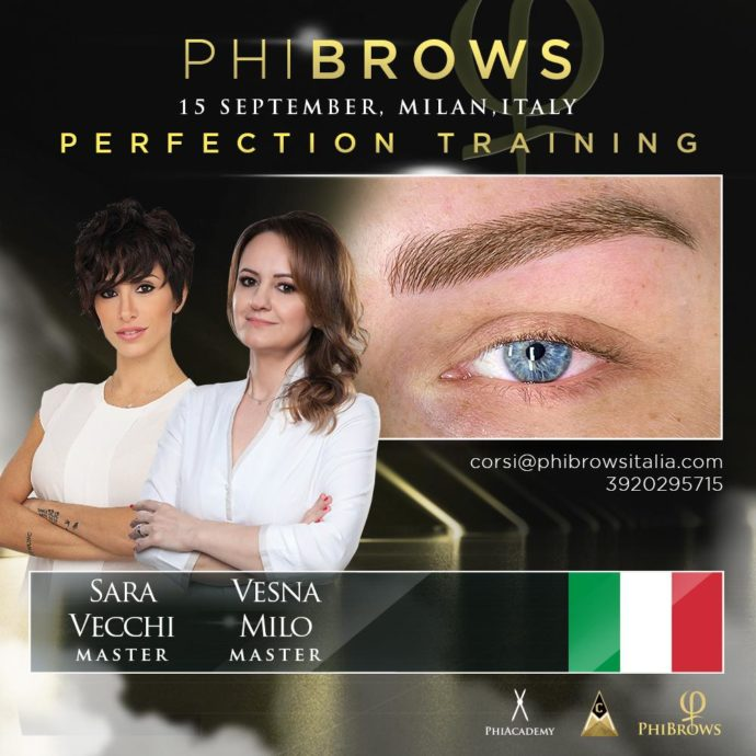 corso phibrows microblading perfection Milano